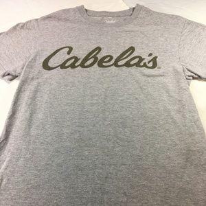 Cabela's Women's Classic Logo T-Shirt Gray Small